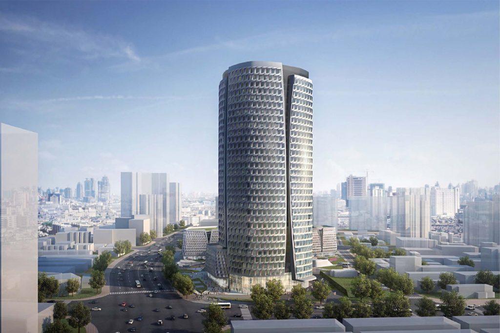 上海金融街海伦中心办公大楼网络地板项目